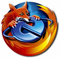 firefox and internet explorer fight