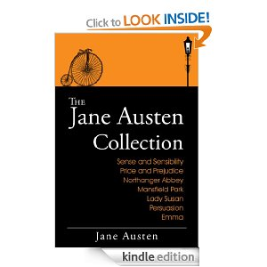 free books for kindle jane austin collection